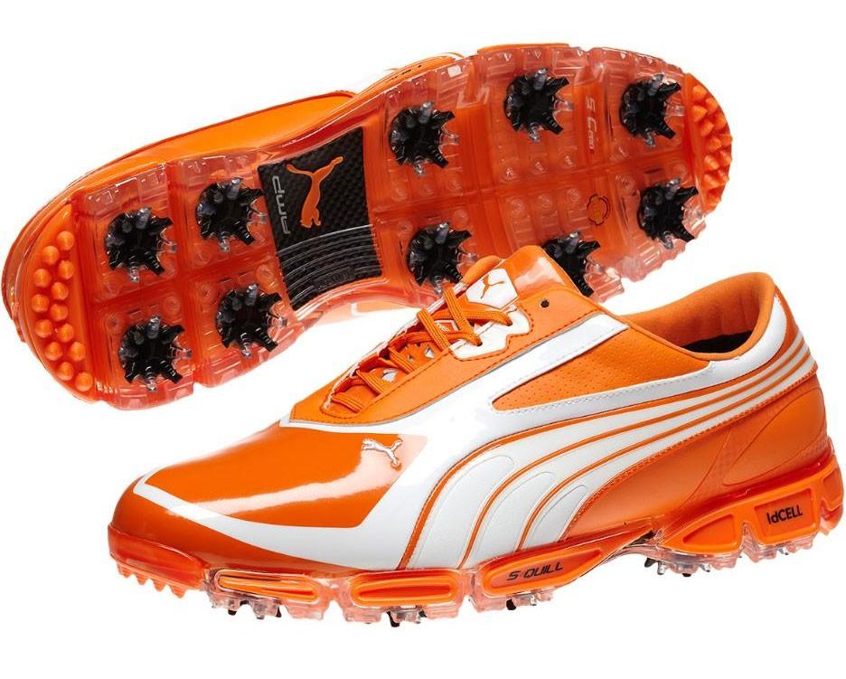 811e3ef4252c7d ... orange puma golf shoes ...