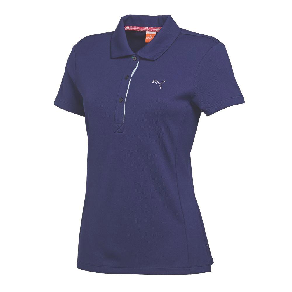 2015 women 39 s puma tech polo golf shirt discount women 39 s for Golf polo shirts for women