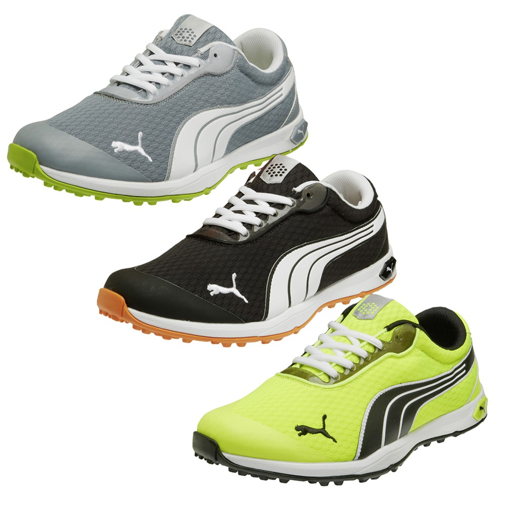 puma biofusion spikeless mesh golf shoes puma golf