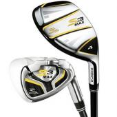Cobra S3 Max Iron-Hybrid Set 3H-5H, 6-PW