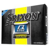 Srixon Q Star Tour Yellow Golf Balls - 1 Dozen