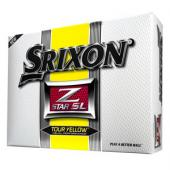 Srixon Z Star SL Tour Yellow Golf Balls - 1 Dozen