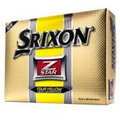 Srixon Z Star Tour Yellow Golf Balls - 1 Dozen