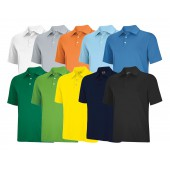 Adidas ClimaLite Solid Stretch Jersey Polo - Adidas Golf
