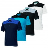 Adidas ClimaChill Shoulder Block Polo - Adidas Golf