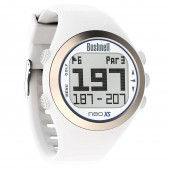 Bushnell NEO XS GPS Rangefinder White Watch - Bushnell Golf