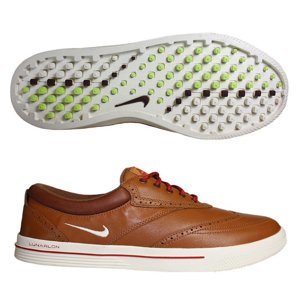 new concept b6096 9cd56 nike lunar swingtip leather golf shoes